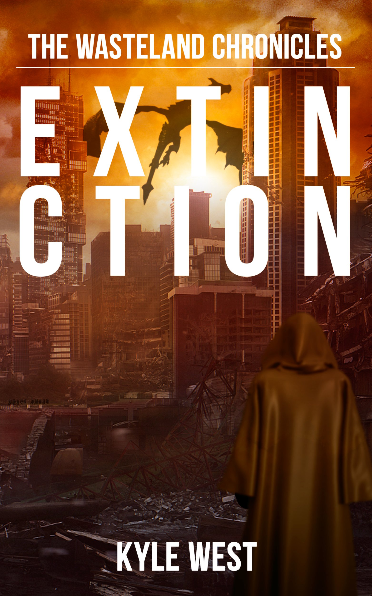 Cover Reveal: Extinction