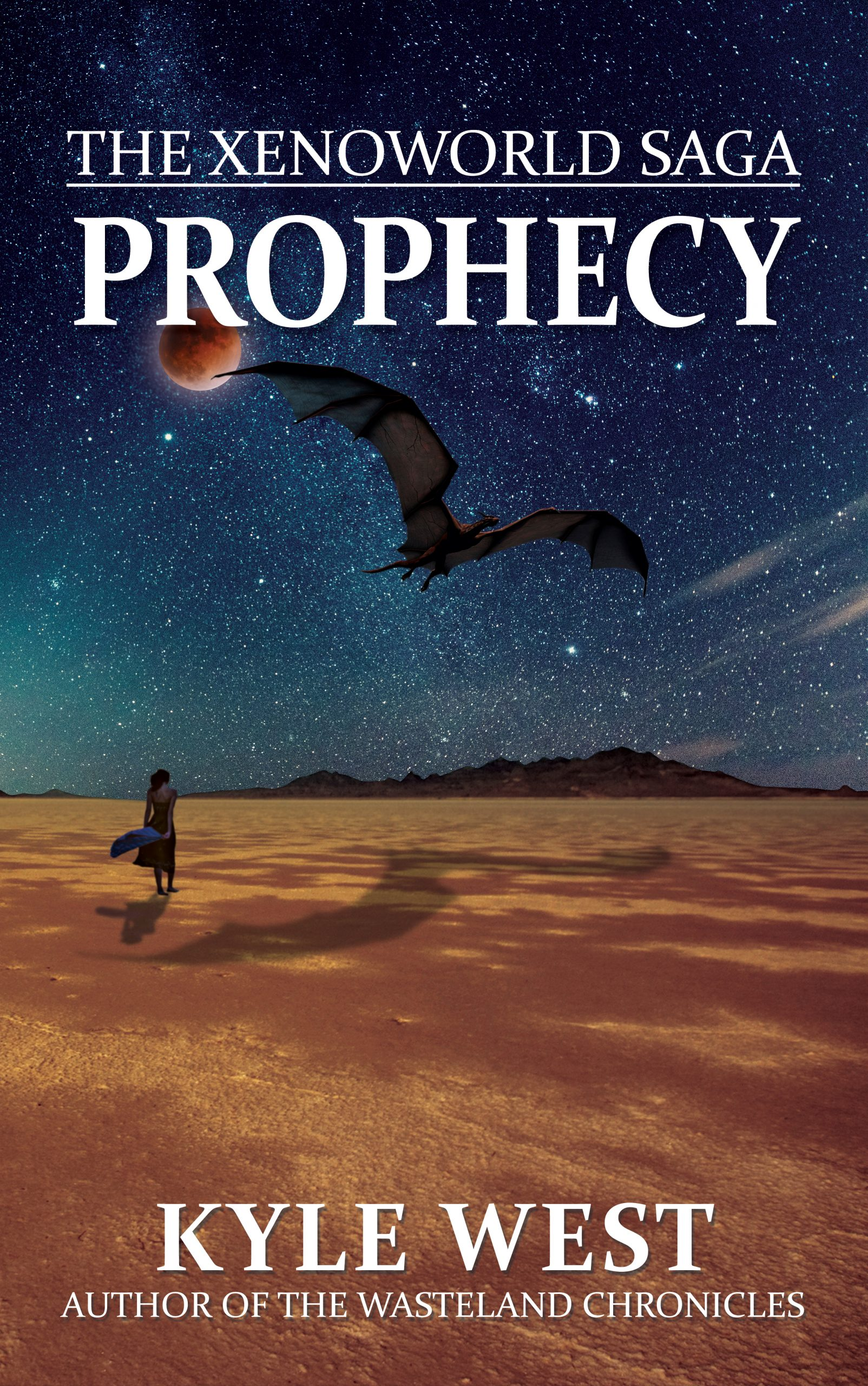How did I not post this yet!? The new cover for Prophecy!